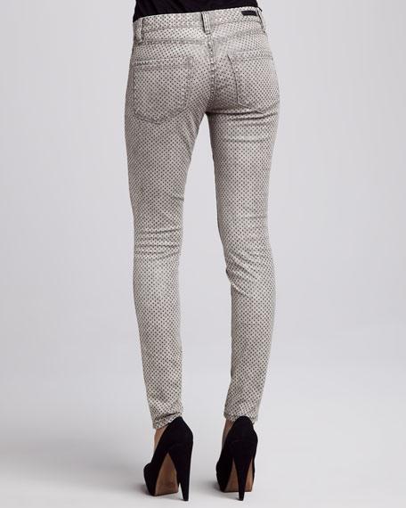 Acid Rain Glittered Skinny Jeans