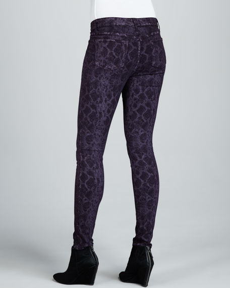 Joy Python-Print Leggings