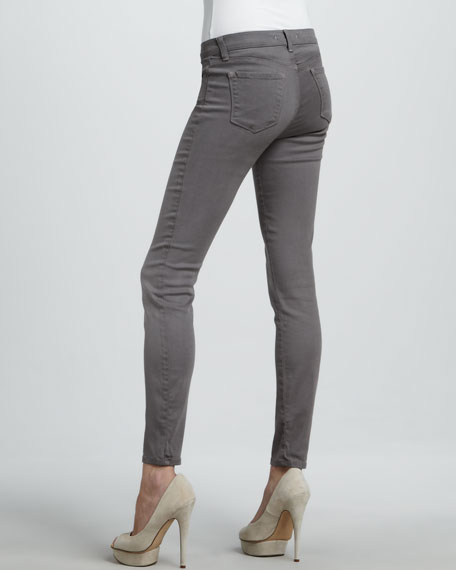 620 Warm Gray Mid-Rise Super Skinny Jeans