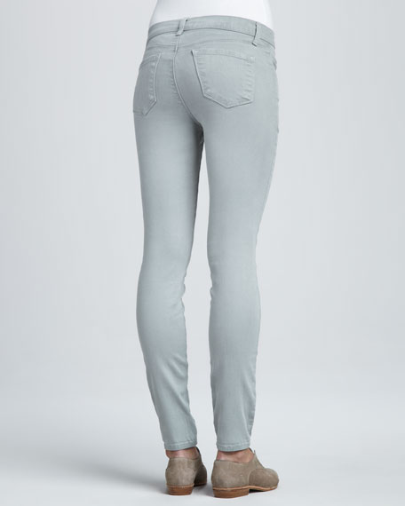 801 Washed Trinity Velvet Skinny Jeans