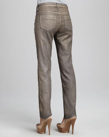 Sophia Osaka Metallic Skinny Jeans