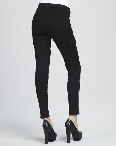 The Brix Zip-Pocket Skinny Jeans