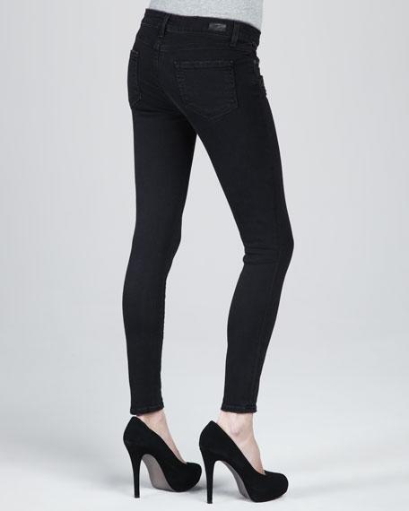 Indio Zip-Detail Skinny Jeans