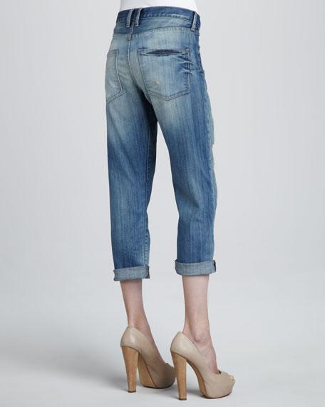 The Boyfriend Distressed Jeans
