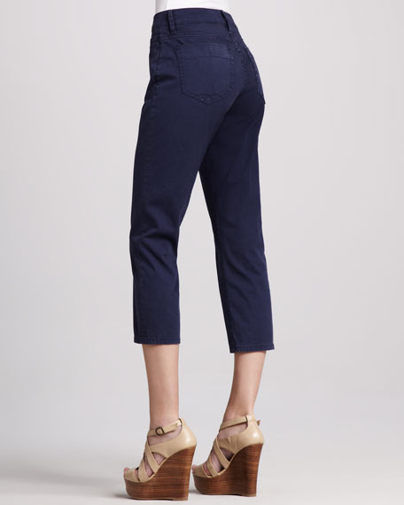 Jackie Cropped Island Twill Pants