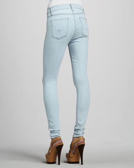 Nico Super-Skinny Jeans, Dahlia