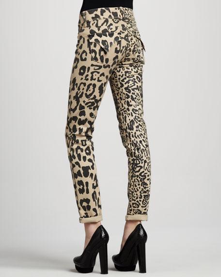 Skinny Birchwood Mid-Rise Safari Jeans