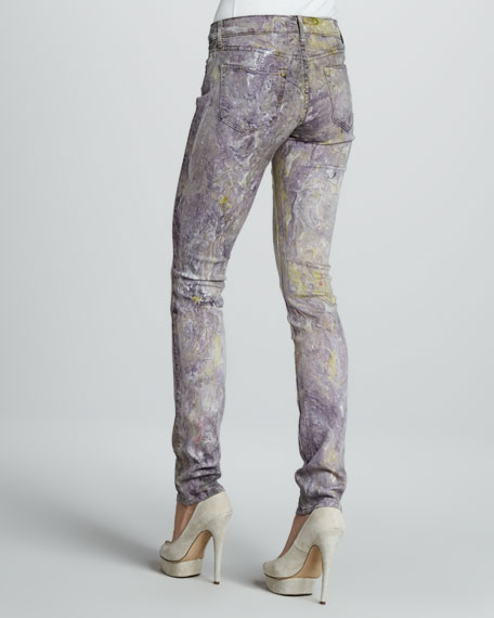 Skinny Miracle Marble Jeans