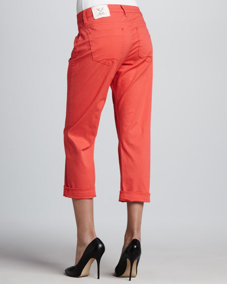 Brooklyn Roll Crop Island Twill Pants