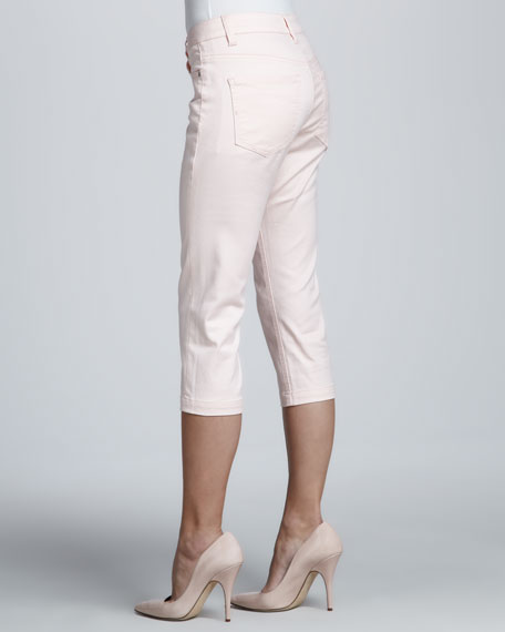 Michelle Sateen Capri Jeans