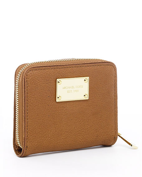 Jet Set Continental Bi-Fold Wallet, Black, Vanilla, or Luggage