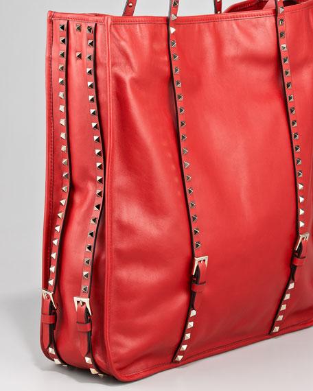 Rockstud Shopping Tote Bag
