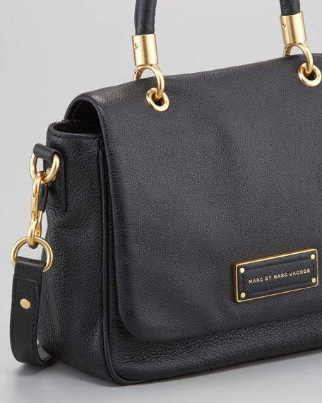 Too Hot to Handle Small Satchel Bag