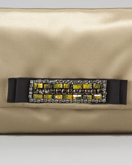 Mai Tai Satin Clutch Bag