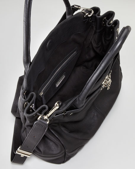 Leather Zoe Tote Bag Deux