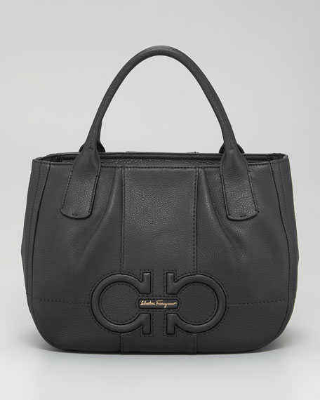 Izzie Gancini-Embossed Tote Bag