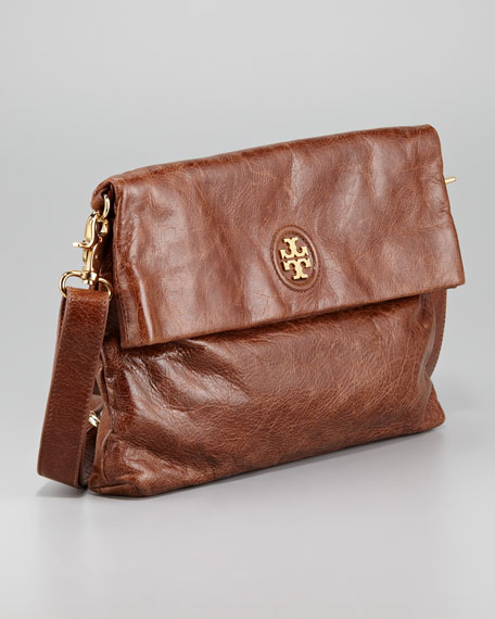 City Fold-Over Messenger Bag