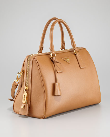 Saffiano Lux Satchel Bag