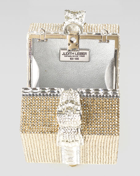 Crystal Cube Gift Clutch Bag