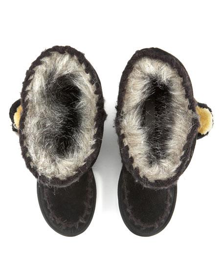 Marsha Pom-Pom Faux-Fur Boot