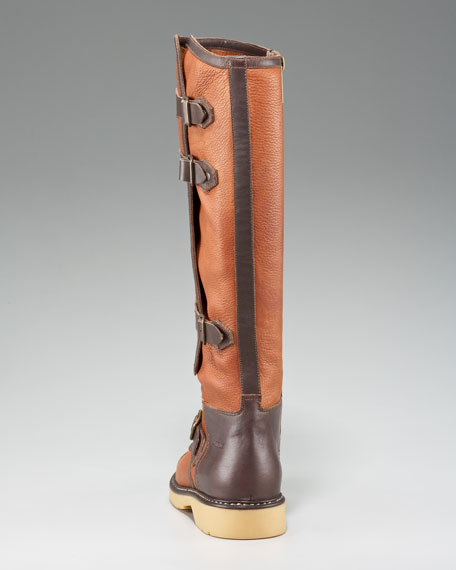 Buckle-Shaft Boot