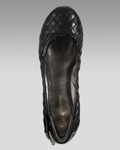 Air Eliza Quilted Ballerina Flat