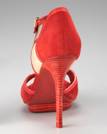 Anastasia Colorblock Sandal
