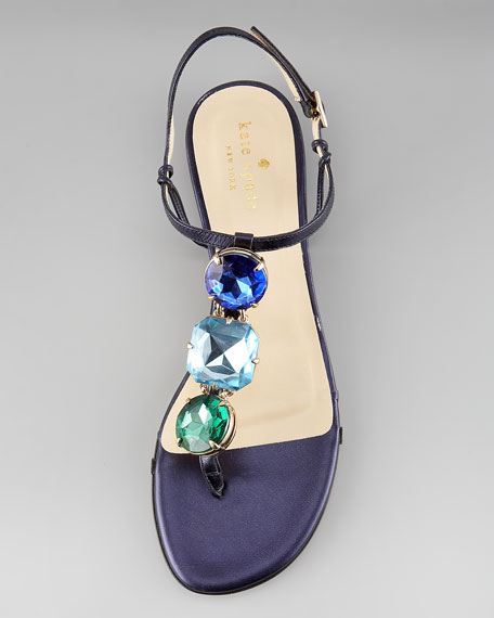 faith jewel-strap sandal