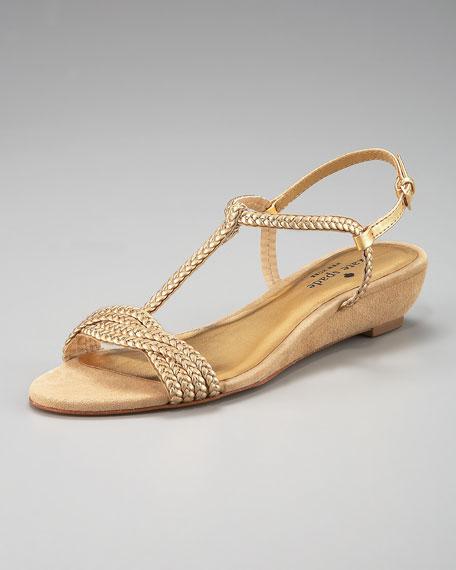 verona braid-strap sandal