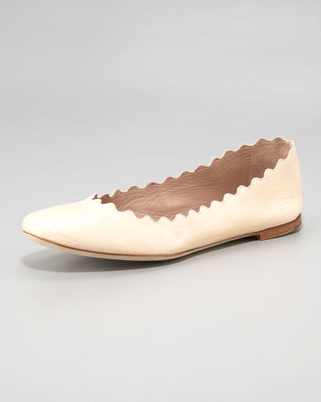 Scallop-Edge Ballerina