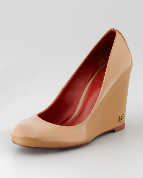 Annelise Patent Logo Wedge
