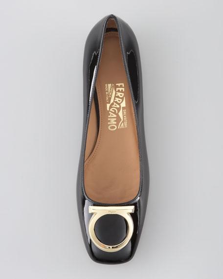Taissa Patent Ballerina Flat
