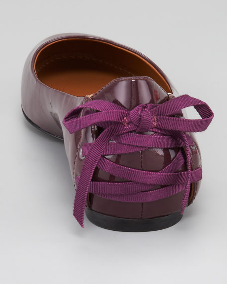 Helen Lace-Back Ballerina Flat