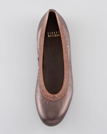 Beaded Ballerina Flat