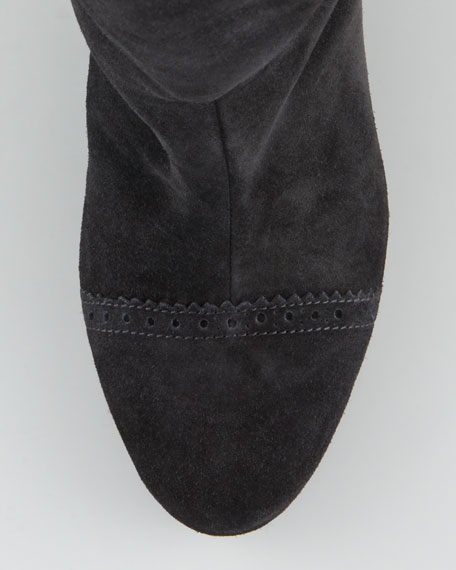 Suede Wrap Boot