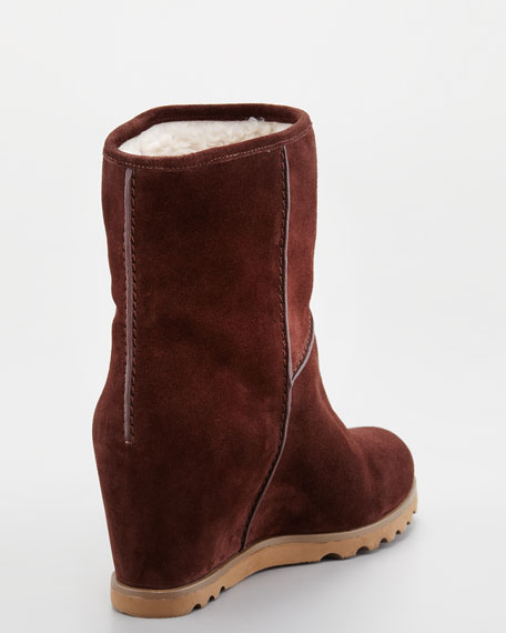 Winter Warming Wedge Boots