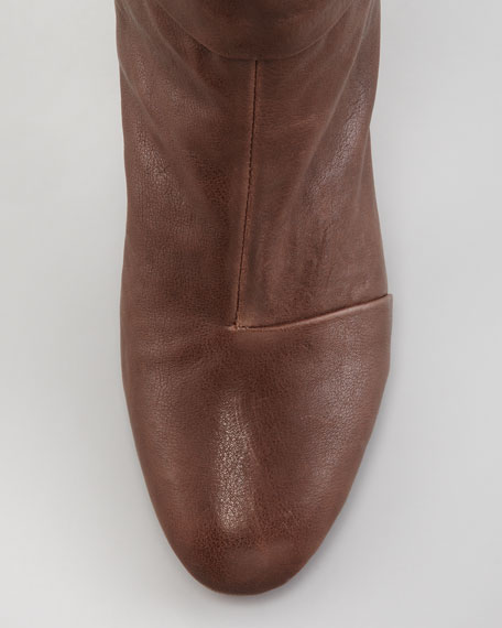 Newbury Leather Knee Boot