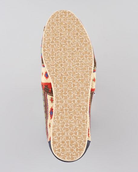 Kilim Printed Slip-On