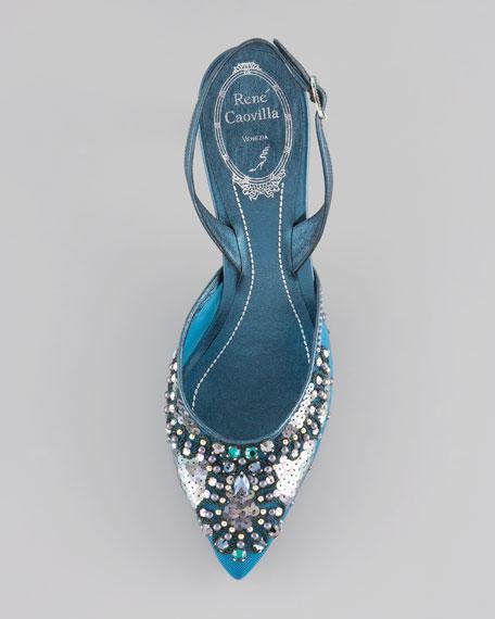 Crystal-Embellished Halter