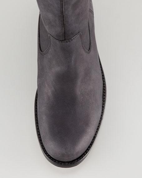 Rannt Distressed Stud-Trim Boot