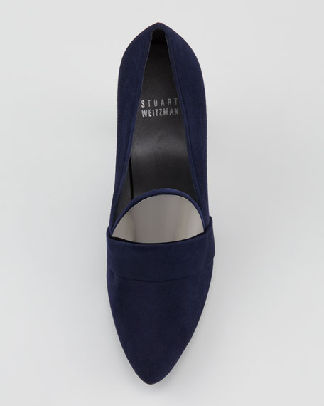 Upfront Metal-Detailed Loafer Pump