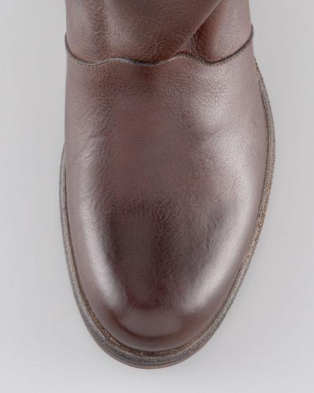 Short Tie-Shaft Boot