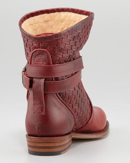 Dorado Short Woven Ankle Boot
