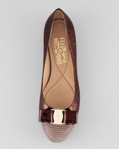 Varina Two-Tone Ballerina Flat