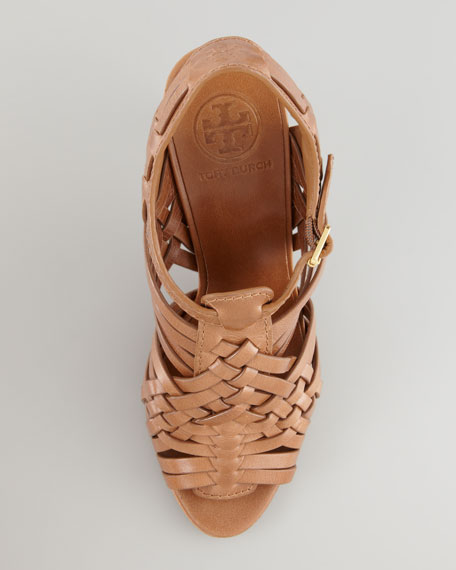 Nadia Huarache Sandal, Royal Tan