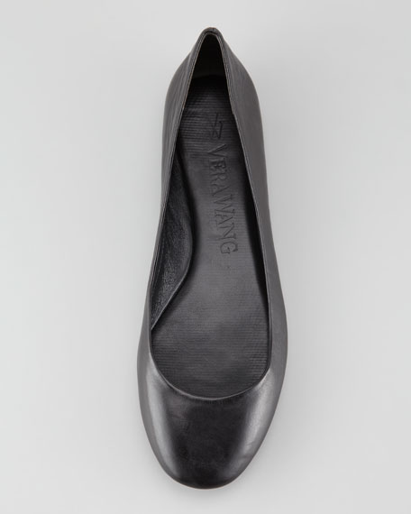 Lara Ballerina Flat, Black
