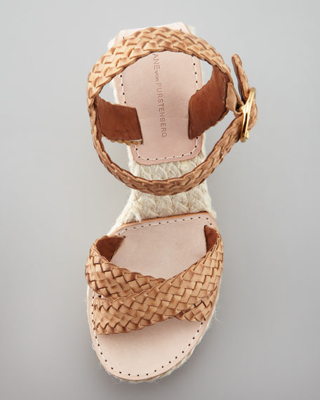 Origenes Wedge Espadrille, Nude/Bleach
