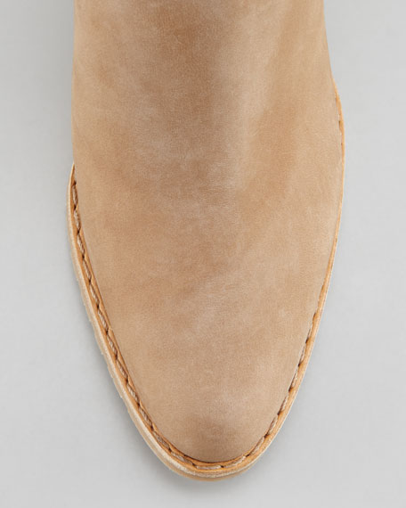 Prancing Tassel Ankle Boot, Tan