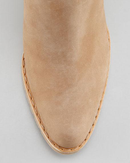 Prancing Tassel Ankle Boot, Tan