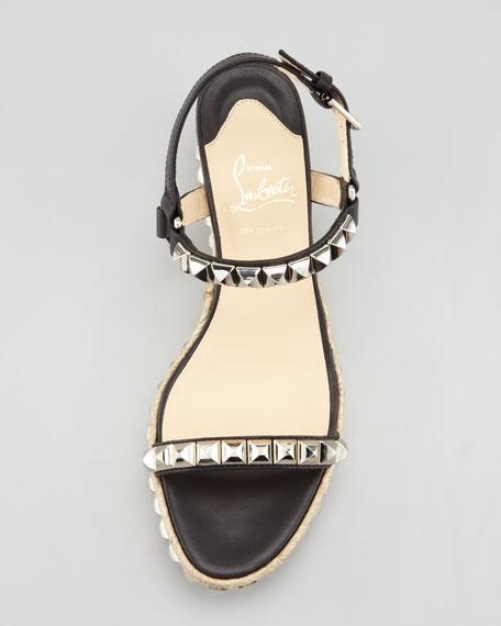 Cataclou Flatform Sandal, Black